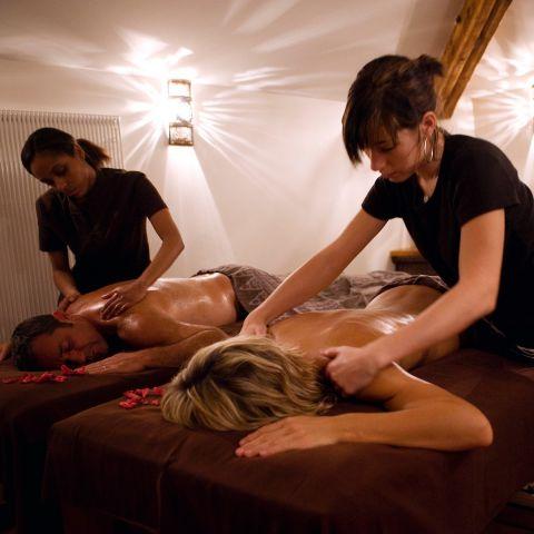 """Rituel """"Caravane des Sens"""" Massage avec Hammam Privatif (1h30) - en Duo / Couple"""