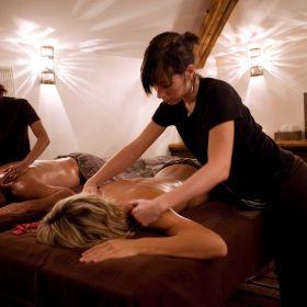 """Massage Bien-être """"Parfum de Sérénité"""" (1h ou 1h30) - en Duo / Couple"""