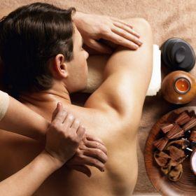 """Cadeau Fête des Pères : Massage Soin Visage avec Hammam Privé (2h) - Coffret Rituel """"Evasion kilimandjaro"""""""