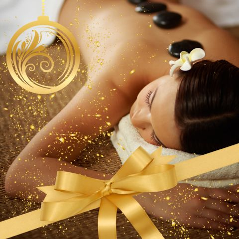 "Coffret ""Prestige NOËL"" : Massage, Hammam & Gommage (2h30) - Cadeau Noël"