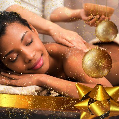 """Coffret """"Détente NOËL"""" : Massage & Hammam Privé (1h) - Cadeau Noël"""